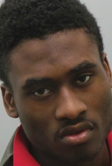 Joshua Pollard stole guns from St. Louis police cars, authorities say.