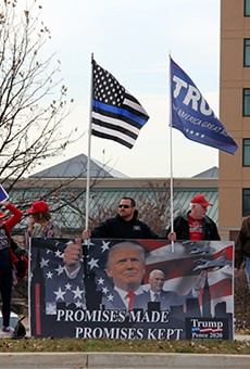 Trump last visited the region in March. He got a mixed reception.
