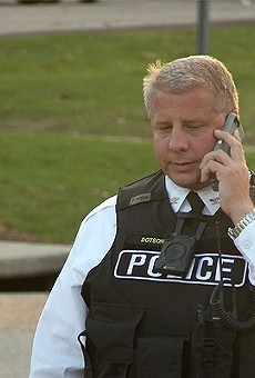 Sam Dotson was let go from his job as the city's police chief last year.