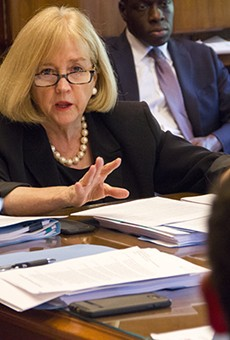 Mayor Lyda Krewson was clearly frustrated by the end of the Estimate and Apportionment meeting.