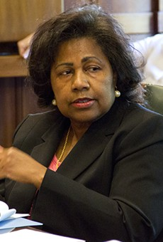 Comptroller Darlene Green was the only no vote on today's contract approval.