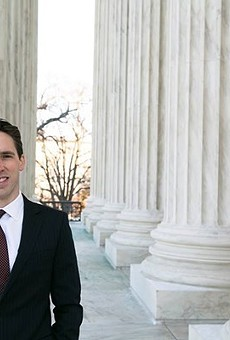 Josh Hawley wants to be senator.