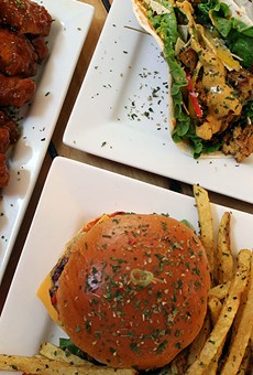 Champs offers tacos, burgers, wings and much, much more.