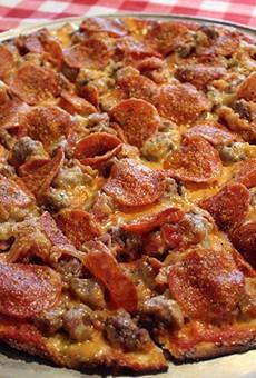 The award-winning Don Vito pizza.