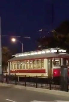 The trolley was sighted in the wild this weekend .... but don't get your hopes up just yet.