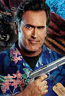 Bruce Campbell's name  IS Bruce.
