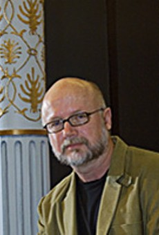 Washington University's playwright-in-residence, Carter W. Lewis, in 2007.