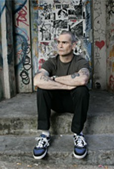 Henry Rollins: Portrait of the artist as a wise man.