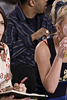 Tina Fey and Amy Poehler aren't able to pump many laughs out of Baby Mama.