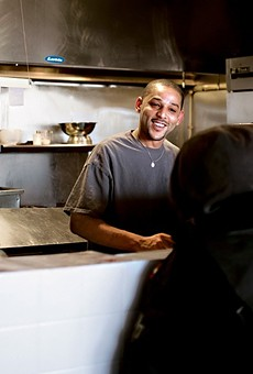 Anthony Ellerson Jr. at the original the Kitchen Sink in 2013.