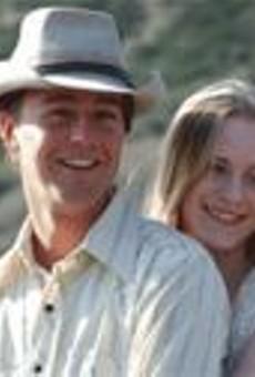 Boy, howdy: Edward Norton (left) and Evan Rachel Wood