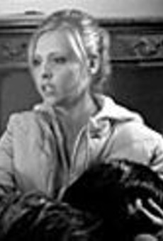 Lighter fare: The Grudge (starring Sarah      Michelle Gellar) fails to frighten.