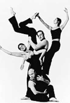 The members of the Sydney Dance Company are      very close.