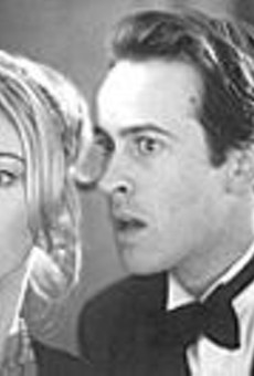 Julia Stiles and Jason Lee in A Guy Thing