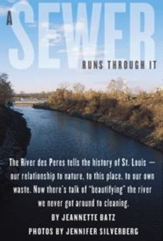 """A stretch of the """"natural"""" River des Peres in University City, free of concrete but corrupted by runoff, junk and the occasional corpse."""