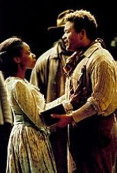 Christina Clark as Treemonisha and Nathan Granner as Remus in Scott Joplin's Treemonisha