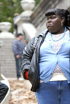 Newcomer Gabourey Sidibe as Claireece Precious Jones