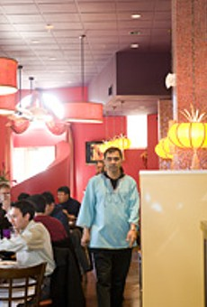 The details make Rasoi's new space pop.