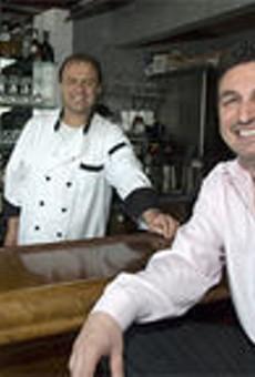 Family matters: Cousins Kostandin Ceko (background) and Alban Ziu run a consistently excellent restaurant.
