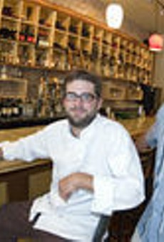 Executive chef Kevin Willmann (left) and proprietor Tim Foley (right) have created a foodie's paradise in Edwardsville.