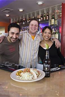 Maz Nooran, Jeff Winer and Liz Munn add flair to Tex-Mex faves at Flaco's Cocina.