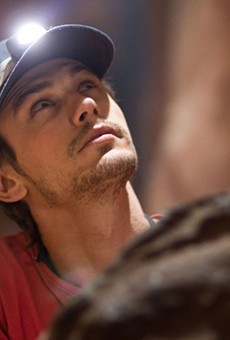 James Franco puts his mind to it in 127 Hours