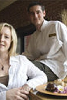 Power couple: Lisa and Jamey Tochtrop make to-die-for pastas, sandwiches and desserts.