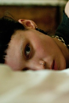 Tattoo you: Rooney Mara is Lisbeth Salander, the spiky-haired hacker hell-bent on revenge in David Fincher's remake.