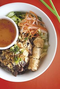 Bun dac biet: Dao Tien's vermicelli noodles prepared with beef, chicken and pork.
