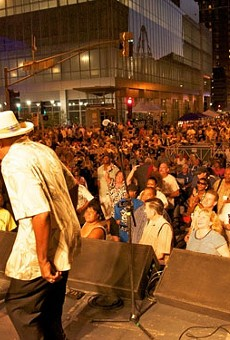 Bluesweek is moving from Market Street to Soldiers Memorial.