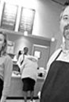 """That's amore: Kelli (left) and Todd Sanders have a hit      in their charming """"mom-and-pop pasta shop."""""""