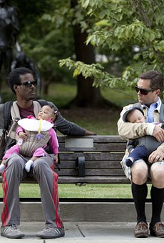 Chris Rock and Tom Lennon in What to Expect When You're Expecting.