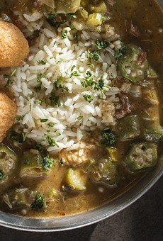 Seafood gumbo. Slideshow: Photos from Inside The Kitchen Sink