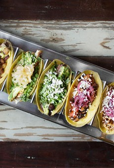 Mission Taco Joint offers a range of tacos, from nopal to roasted duck to brisket. See photos: Inside Mission Taco in the Delmar Loop
