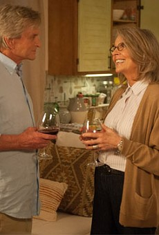 Michael Douglas and Diane Keaton in And So It Goes.