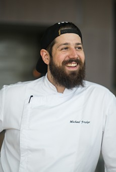 Michael Fricker embraces the Midwest's bounty at Cinder House.