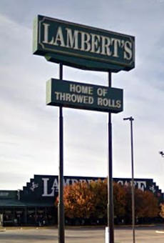 Benjamin Lambert previously ran the Lambert's Cafe in Ozark, Missouri.