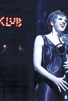 Stray Dog Theatre's Cabaret, one of the nominees for outstanding production of a musical.