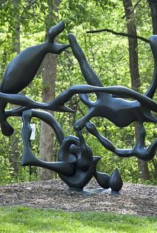 Laumeier Sculpture Park, the world's third most amazing sculpture garden.