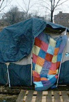 Hopeville encampment last year.