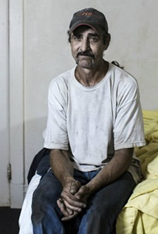 Robert Cook, a resident at the Mark Twain, in his room. He was released from prison in 2012 and now works as a warehouse manager.