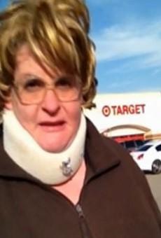 Aunt Claudette Higgins in her Target exposé.