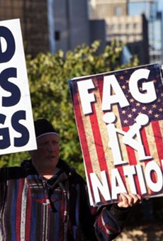 Photos: Westboro Baptist Church Protests at World Series For Some Reason