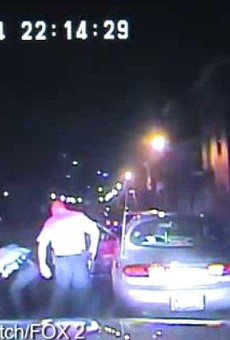 St. Louis cops beat a man during a traffic stop in April -- but they didn't want the camera on.
