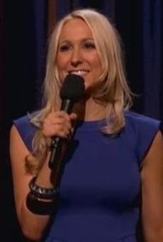 Nikki Glaser doing her act on Conan, 9-18-2012