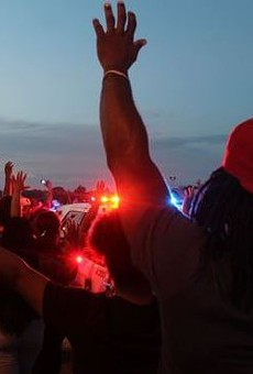 Police shootings have inspired protests across the area.