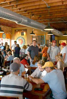 Urban Chestnut's flagship brewery and tap room on Washington Avenue.