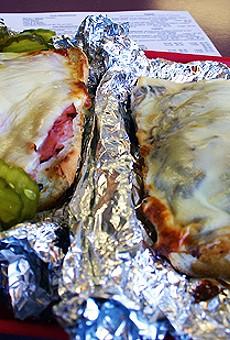 Provel's twin peaks: the Prosperity and the Gerber at Ruma's Deli.