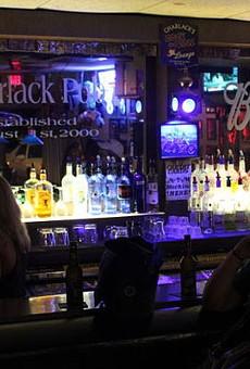 Inside Charlack Pub.   Daniel Hill