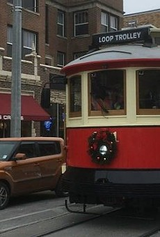 Loop Trolley Isn't Even Open for Business Yet and It Already Hit a Parked Car